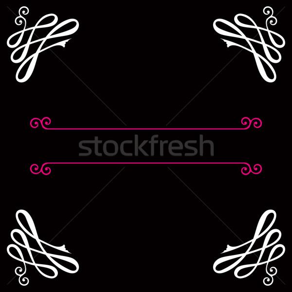 Vector Vignette background.  Stock photo © OlgaYakovenko