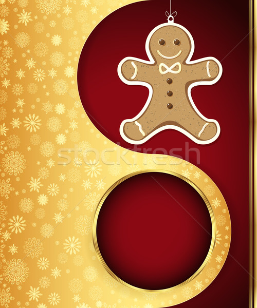 Christmas vector eps 10 abstract ontwerp Stockfoto © OlgaYakovenko
