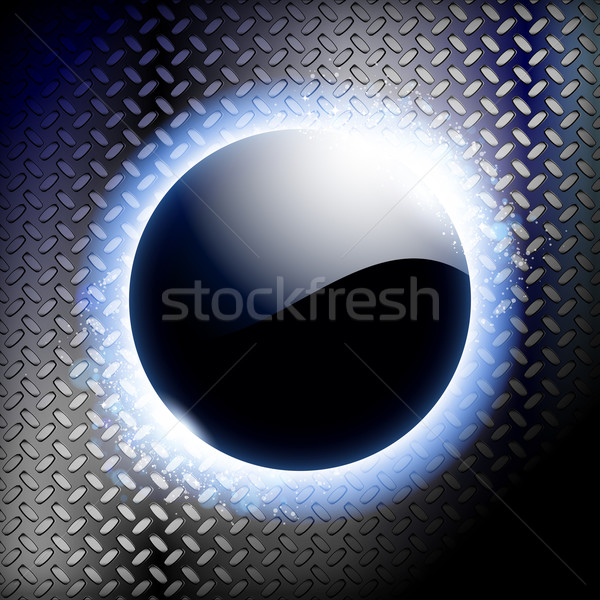 Techno blu luce frame cielo sole Foto d'archivio © OlgaYakovenko