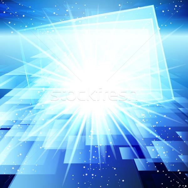 Abstrato techno textura internet luz projeto Foto stock © OlgaYakovenko