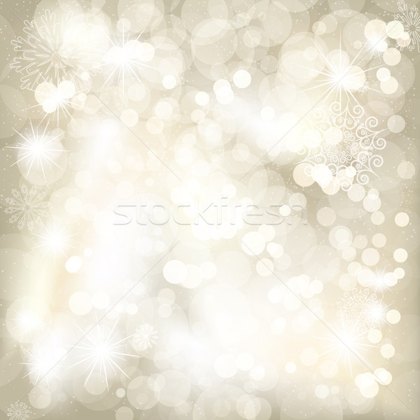 Christmas background with snowflakes and place for your text  Stock photo © OlgaYakovenko