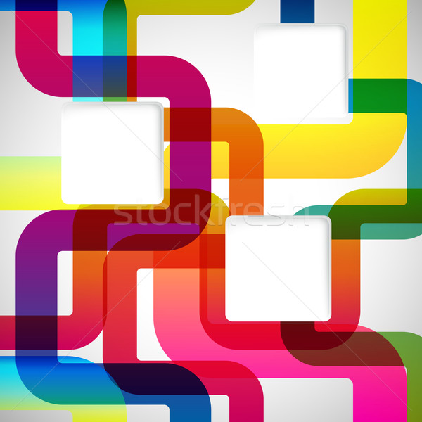 Abstract background with rounded design elements. Stock photo © OlgaYakovenko