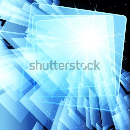 Abstract techno textuur internet licht ontwerp Stockfoto © OlgaYakovenko