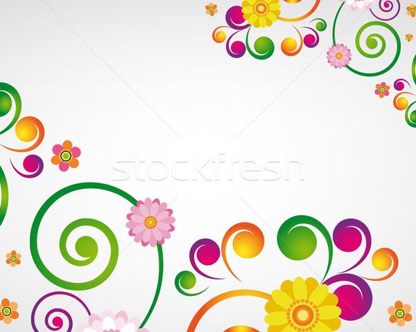 цветочный дизайна Пасху природы кадр Сток-фото © OlgaYakovenko