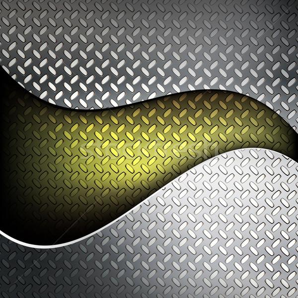 Fluted metal texture.  Stock photo © OlgaYakovenko