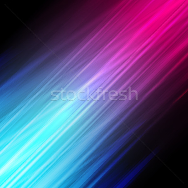Vector illustration of futuristic abstract glowing background wi Stock photo © OlgaYakovenko
