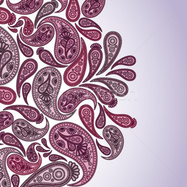 пространстве текста красивой цветочный Элементы Сток-фото © OlgaYakovenko