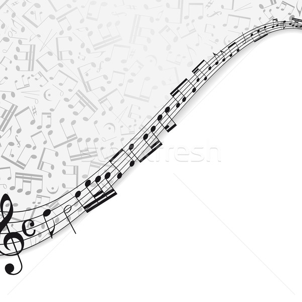 Music background with a musical theme and the place for your text. Stock photo © OlgaYakovenko
