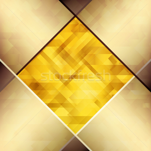 Abstract background with hardwood textures of copper and amber h Stock photo © OlgaYakovenko