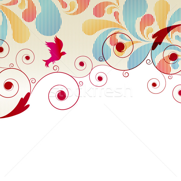 Abstract Curls background for design  Stock photo © OlgaYakovenko