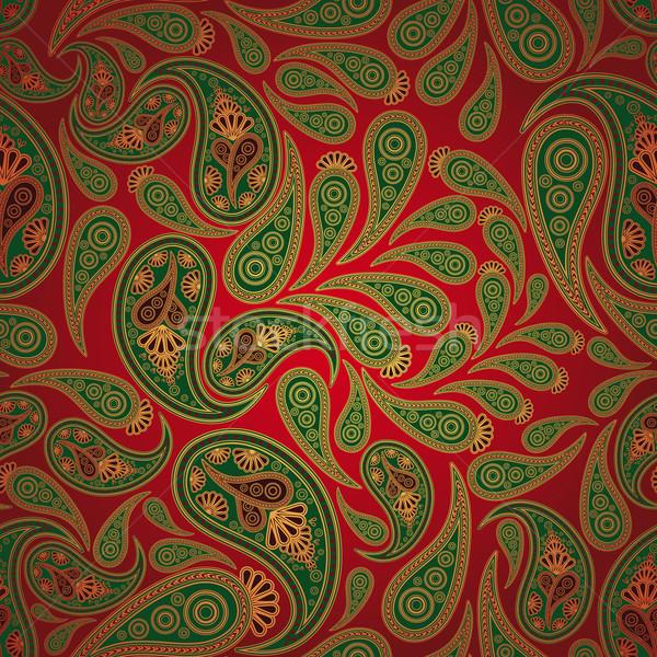 бесшовный бумаги дизайна фон искусства ткань Сток-фото © OlgaYakovenko