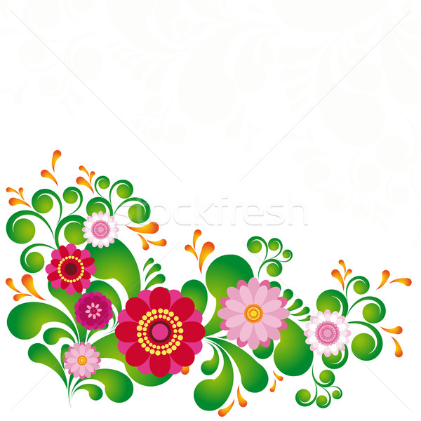 Colorful flower. Floral background. To see similar, please visit Stock photo © OlgaYakovenko