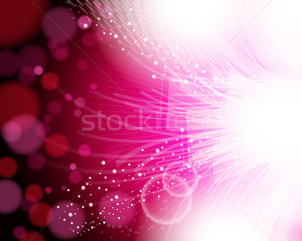 Eps10 abstract roze ontwerp technologie web Stockfoto © OlgaYakovenko