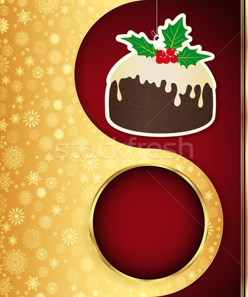Рождества вектора прибыль на акцию 10 аннотация дизайна Сток-фото © OlgaYakovenko