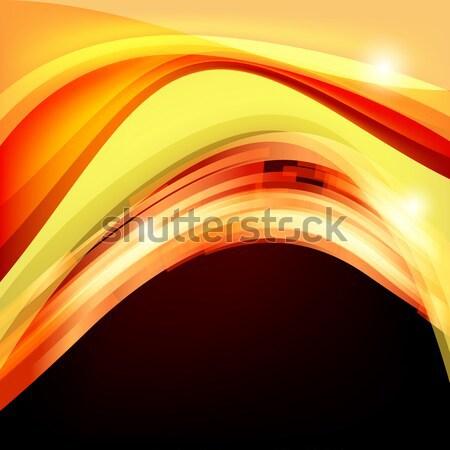 Absztrakt piros hát szín tapéta grafikus Stock fotó © OlgaYakovenko