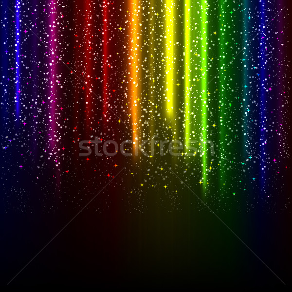 abstract glowing background.  Stock photo © OlgaYakovenko