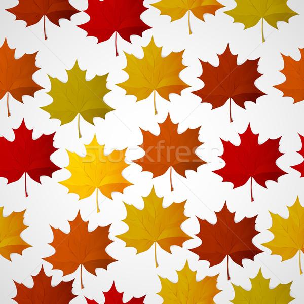 аннотация осень красочный листьев текстуры дерево Сток-фото © OlgaYakovenko