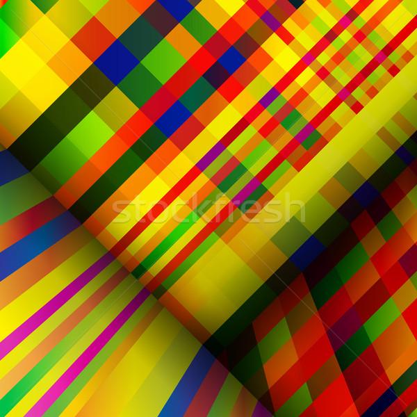 Motley striped abstract background. Stock photo © OlgaYakovenko