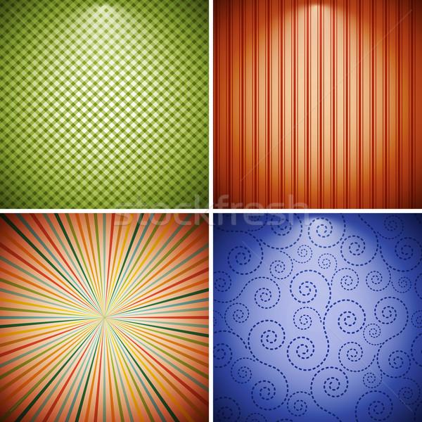 Abstract retro raccolta texture muro spazio Foto d'archivio © OlgaYakovenko