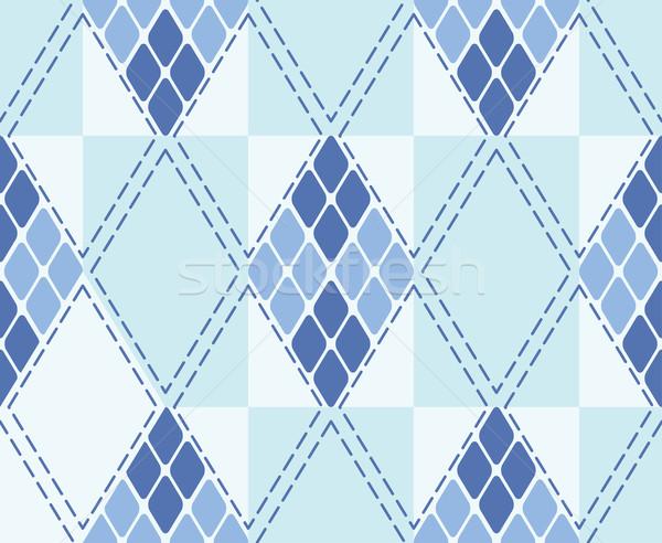 Vector rhombus seamless background Stock photo © OlgaYakovenko