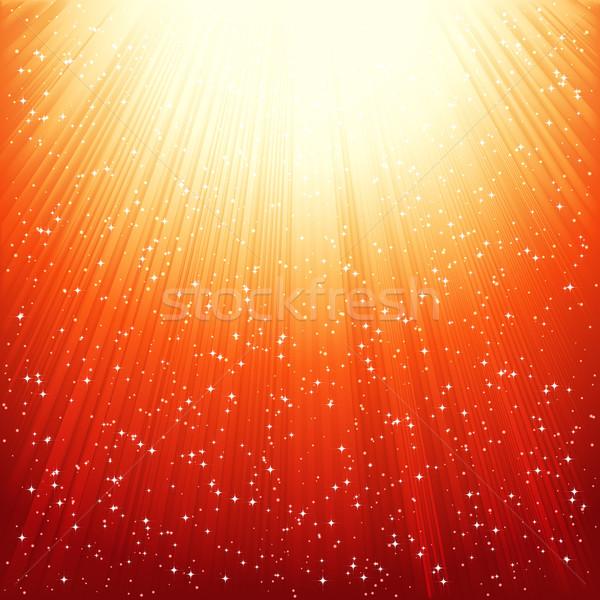 Abstract golden shiny background.  Stock photo © OlgaYakovenko