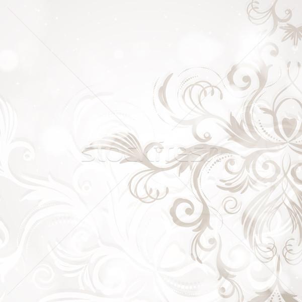 аннотация цветочный текстуры весны свет лист Сток-фото © OlgaYakovenko