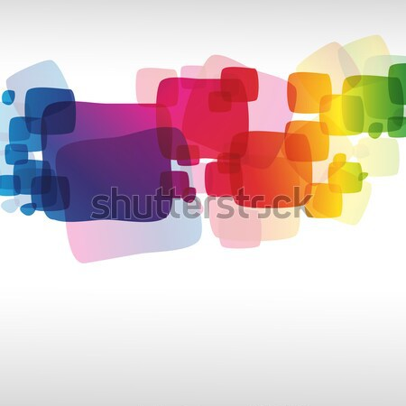 Abstract colorato business design web Rainbow Foto d'archivio © OlgaYakovenko