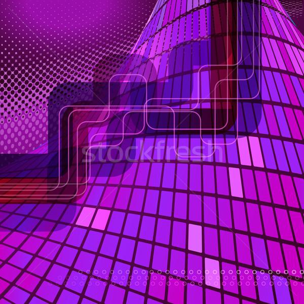 Résumé techno texture technologie art communication Photo stock © OlgaYakovenko