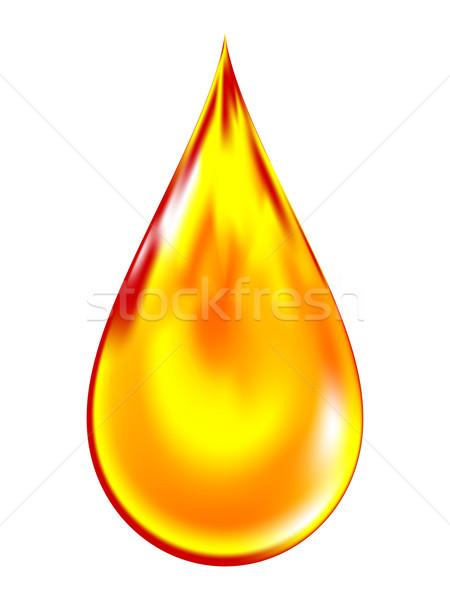 падение нефть дизайна фон медицина Сток-фото © OlgaYakovenko