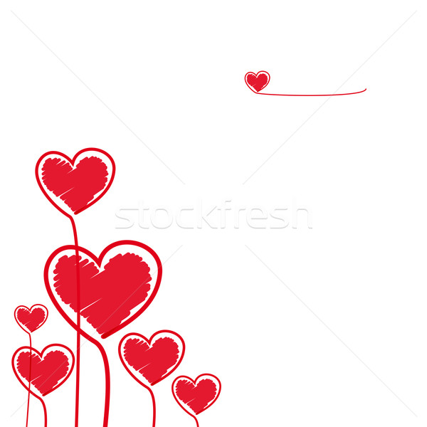 Hearts Stock photo © OlgaYakovenko