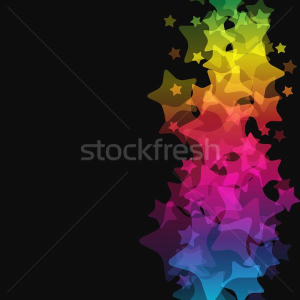 Abstract Star Background Stock photo © OlgaYakovenko