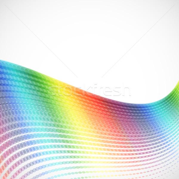 аннотация спектр полутоновой дизайна технологий фон Сток-фото © OlgaYakovenko