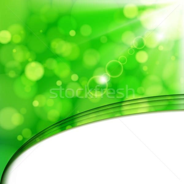 Сток-фото: свежие · извести · Blur · солнечный · свет · Места · весны