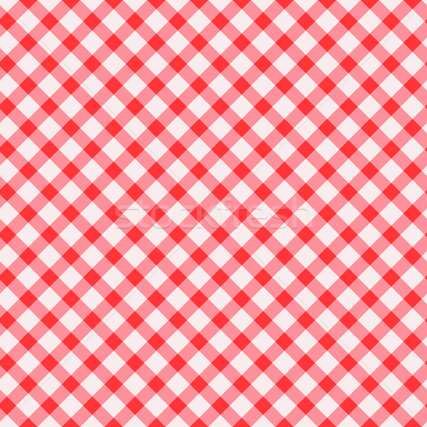 Tablecloth seamless background. Vector. Stock photo © OlgaYakovenko