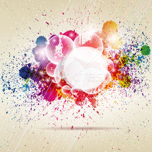 аннотация красочный бизнеса дизайна фон радуга Сток-фото © OlgaYakovenko