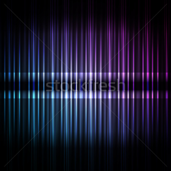 Blue stripe abstract background Stock photo © OlgaYakovenko