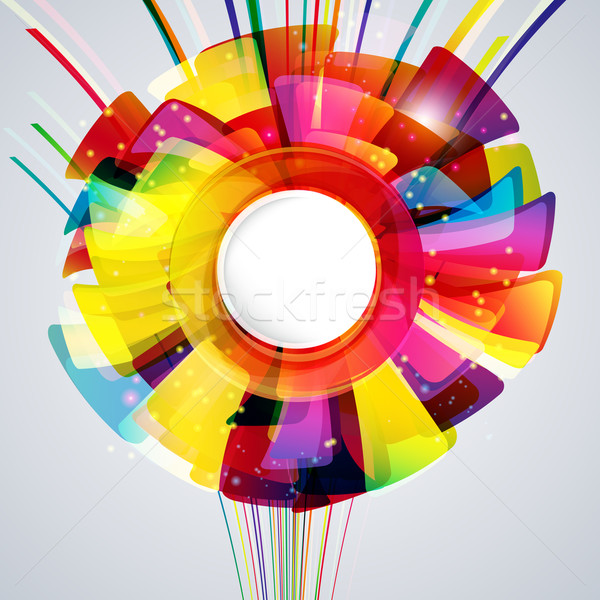 Multicolor abstract bright background. Elements for design. Eps1 Stock photo © OlgaYakovenko