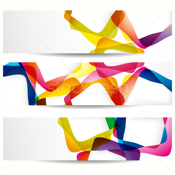 Abstract banners Stock photo © OlgaYakovenko