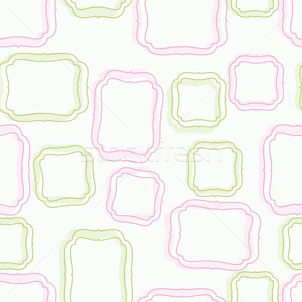 シームレス フレームワーク 紙 テクスチャ 春 抽象的な ストックフォト © OlgaYakovenko
