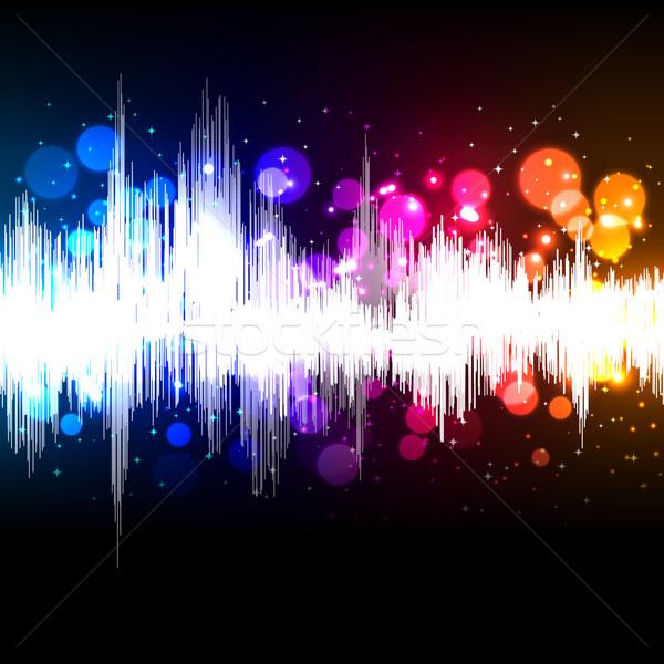 Música vector Internet resumen diseno Foto stock © OlgaYakovenko