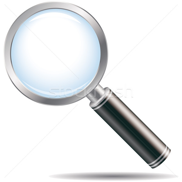 Magnifying glass Stock photo © OlgaYakovenko