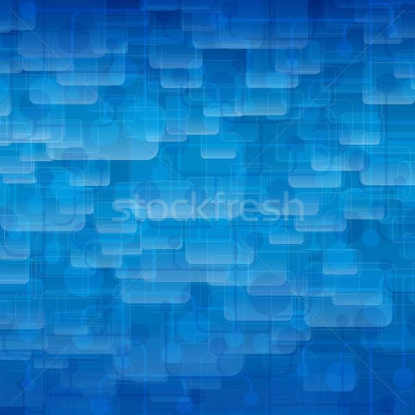 Abstrato techno linhas vetor eps 10 Foto stock © OlgaYakovenko