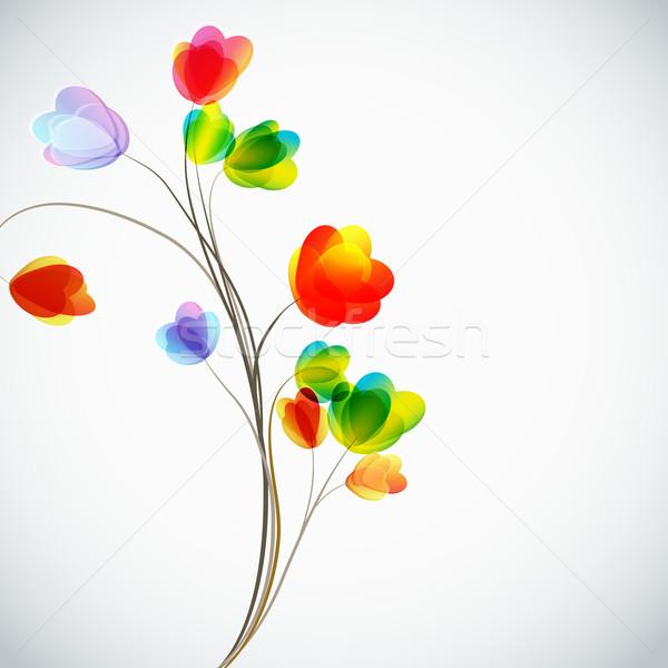 Foto d'archivio: Fiori · fiore · abstract · foglia · sfondo · regalo