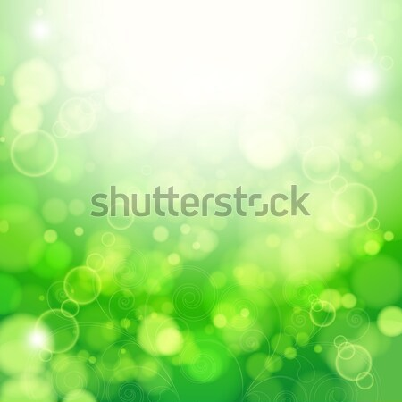 Fresh lime blur background with sunlight spots. Stock photo © OlgaYakovenko