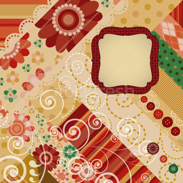 abstract retro background with space for text. Stock photo © OlgaYakovenko