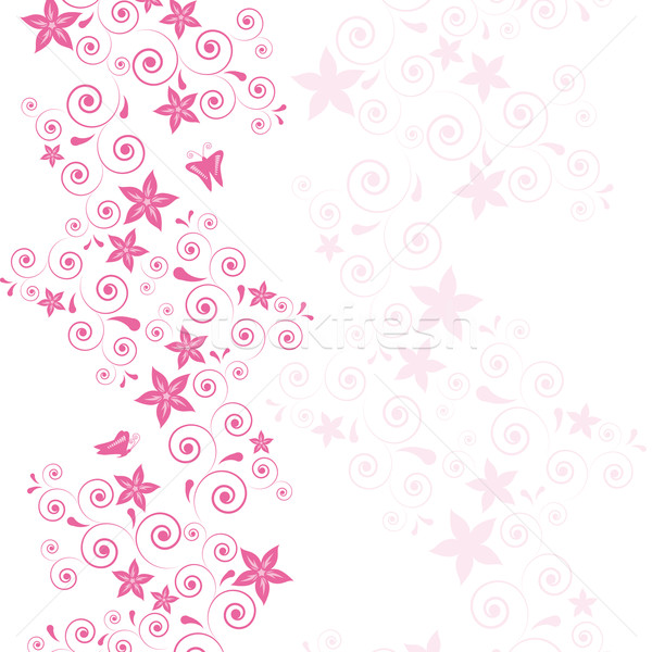 Vector pink flower floral background illustration for your design add to lightbox download comp mightylinksfo