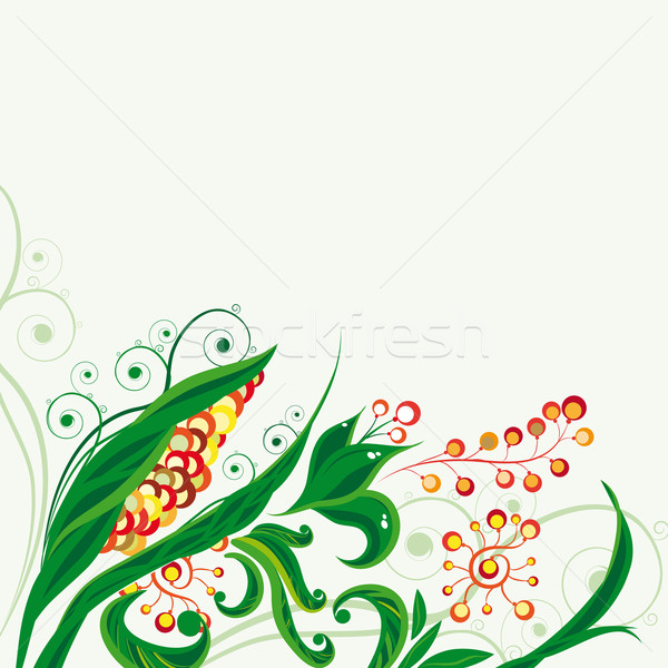 Image of Fairy floral background Stock photo © OlgaYakovenko