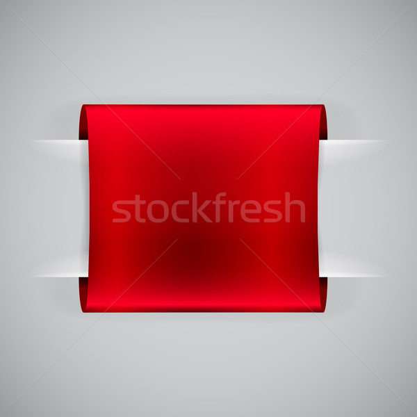 Stock photo: Loops label, vector illustration.