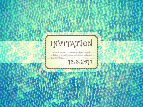 Invitation Stock photo © oliopi