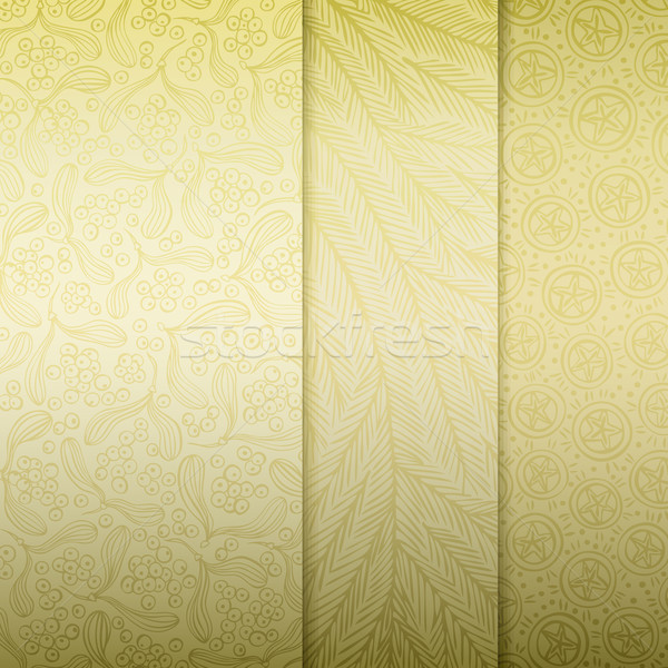 Noel altın kâğıt desen doku Stok fotoğraf © oliopi